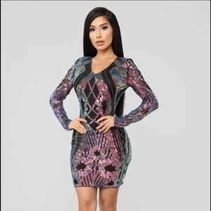 Only Girl in the World Sequin Dress- Fashion Nova